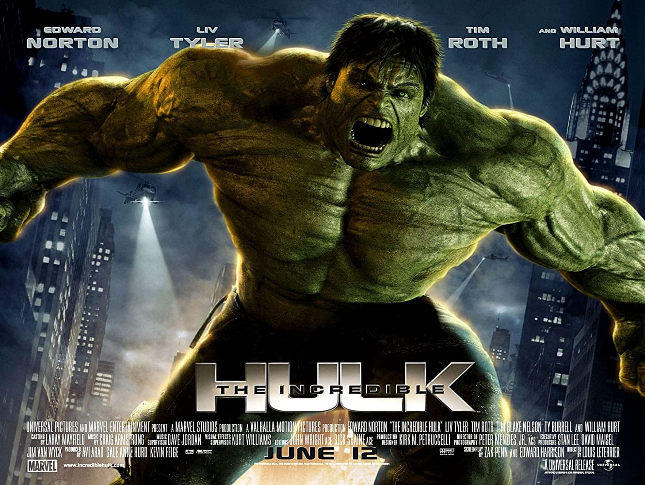 Image result for the incredible hulk 2008