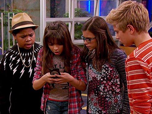Madisyn Shipman, Benjamin Flores Jr., Thomas Kuc, and Cree Cicchino in Game Shakers (2015)