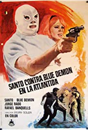 Santo vs. Blue Demon in Atlantis (1970) with English Subtitles on DVD on DVD