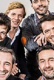 Guillaume Canet, Jean Dujardin, Laurent Lafitte, Gilles Lellouche, and Alex Lutz in Le débarquement (2013)