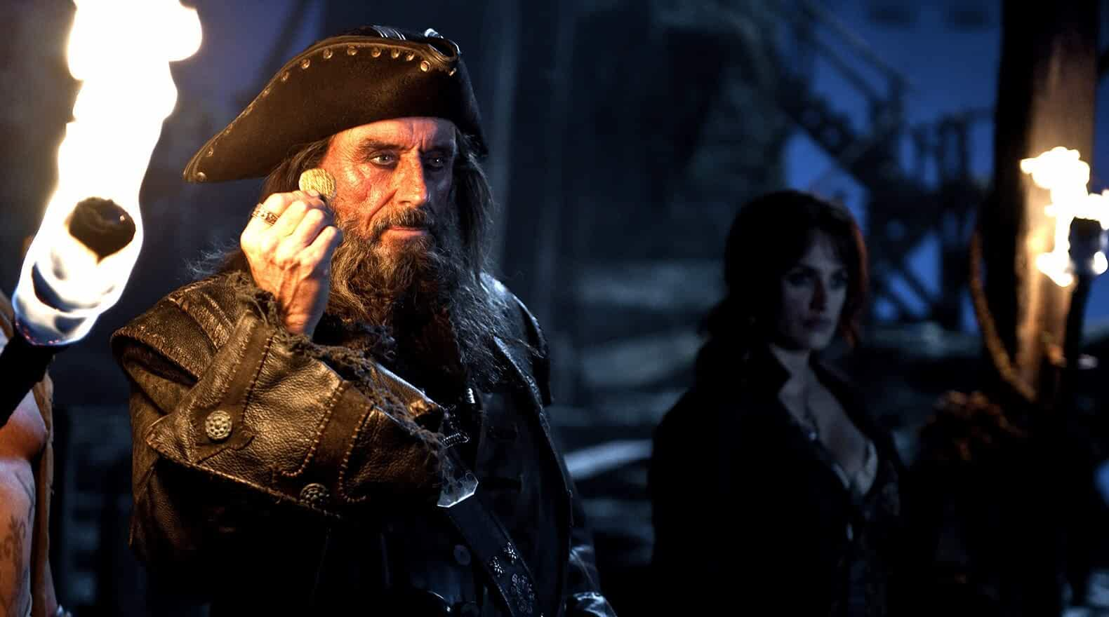 Penélope Cruz and Ian McShane in Pirates of the Caribbean: On Stranger Tides (2011)