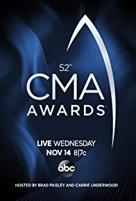Primary photo for 52nd Annual CMA Awards