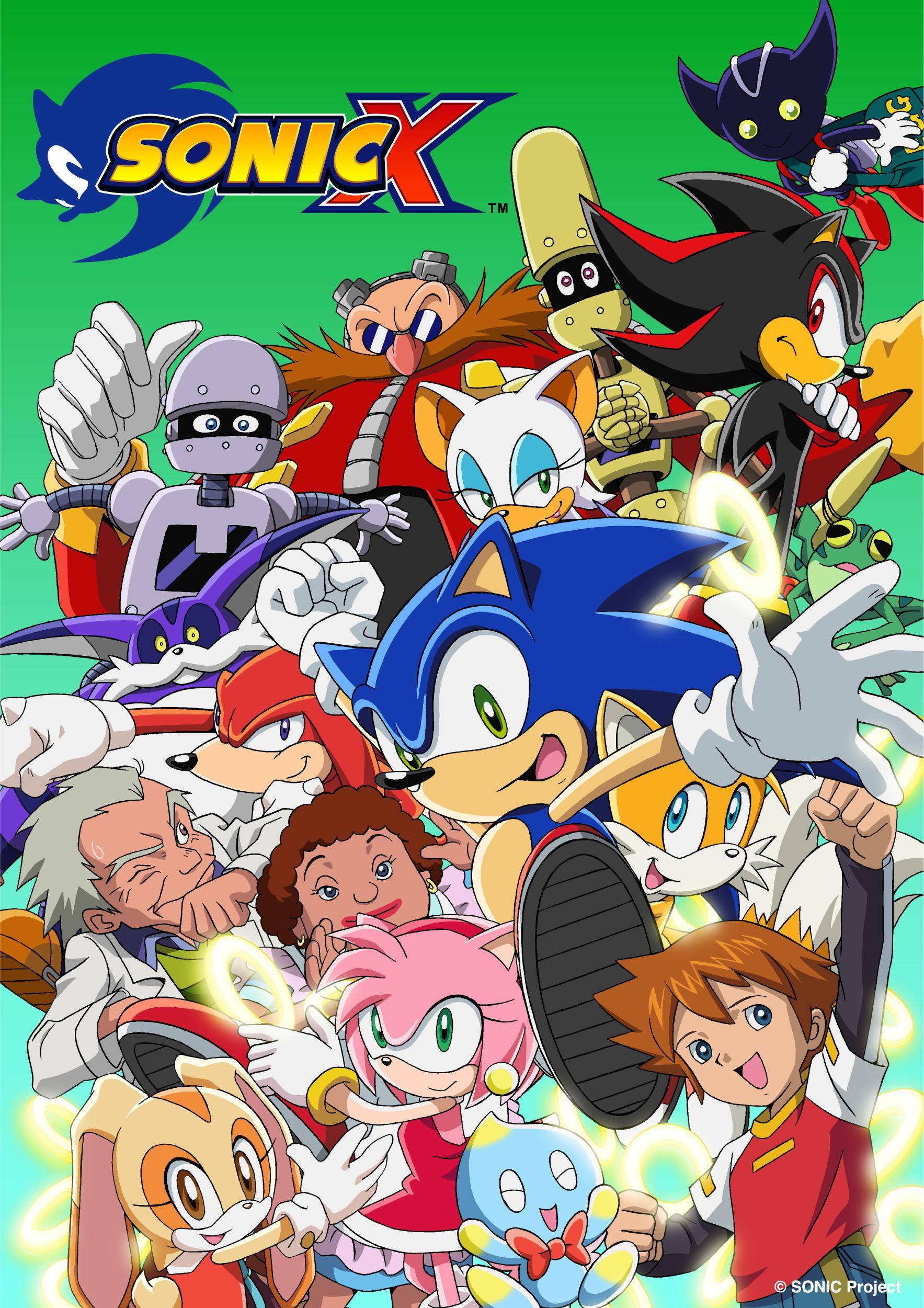 Sonic X (TV Series 2003–2006) - IMDb