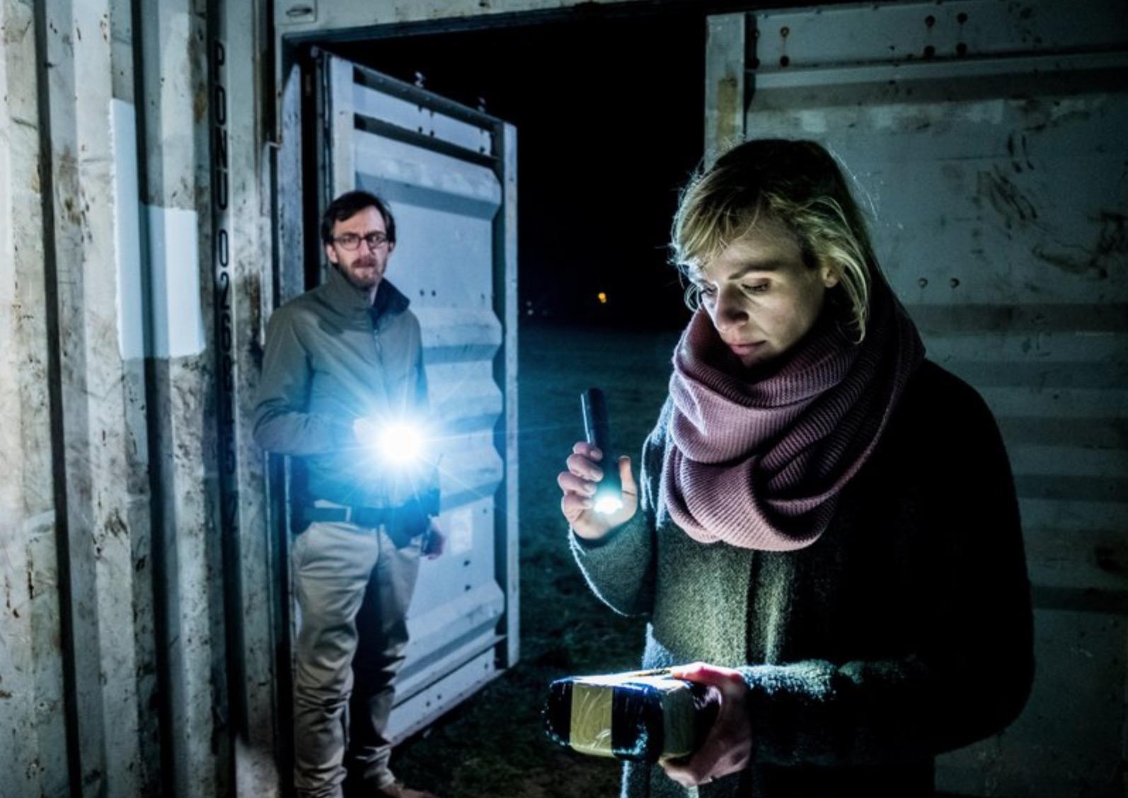 Hendrik von Bültzingslöwen and Katrin Jaehne in Der Container (2019)