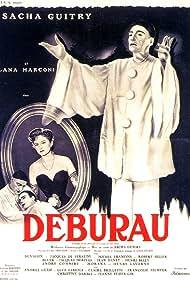 Michel François, Sacha Guitry, and Lana Marconi in Deburau (1951)