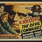 Boris Karloff and Anne Revere in The Devil Commands (1941)