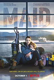 Rylea Nevaeh Whittet and Margaret Qualley in Maid (2021)