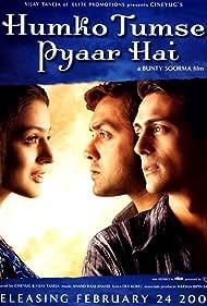 Bobby Deol, Ameesha Patel, and Arjun Rampal in Humko Tumse Pyaar Hai (2006)