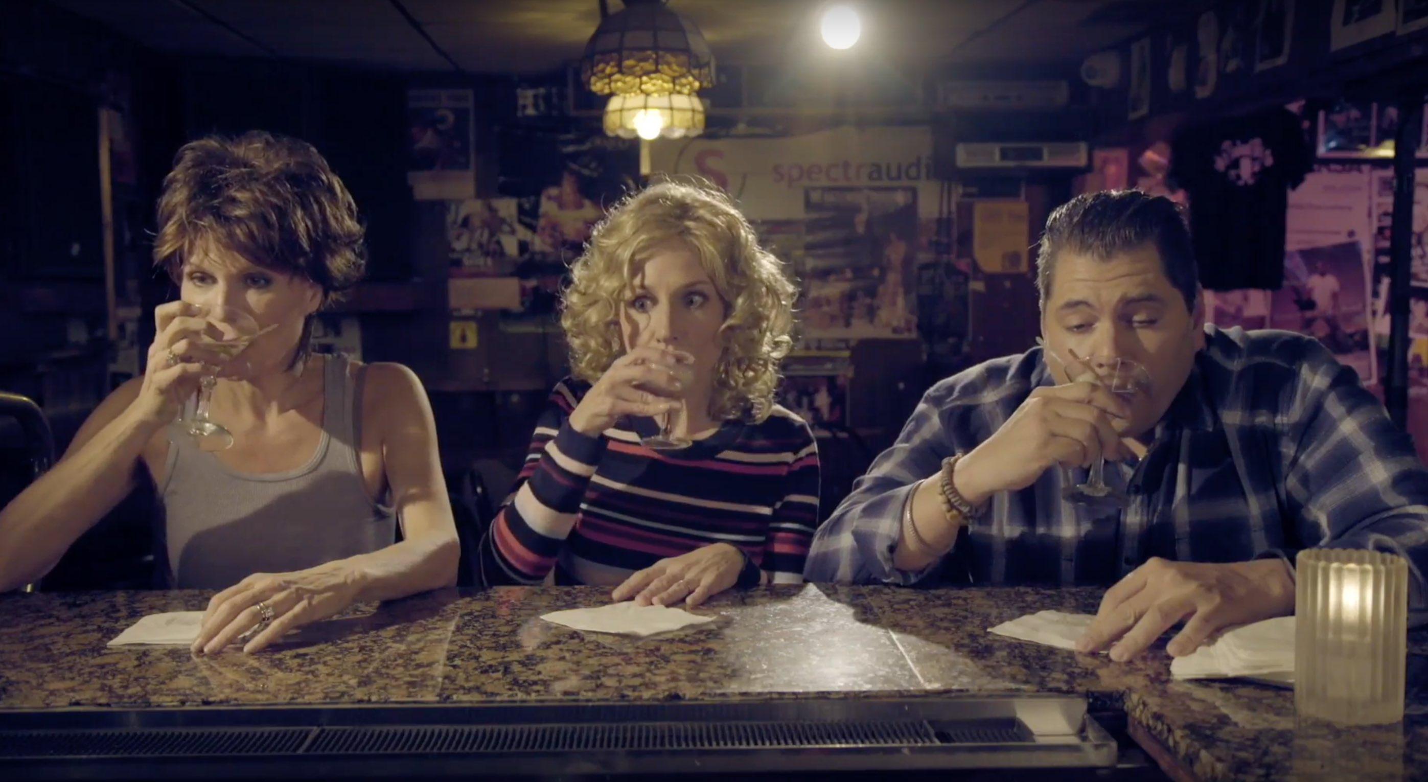 Pamela Gray, Seana Kofoed, and Michael Manuel in Borderline Talent (2018)