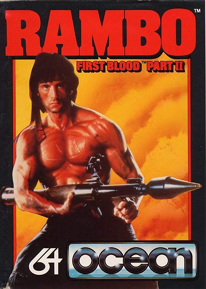 Rambo First Blood Part Ii Video Game 1985 Imdb