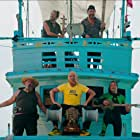 Jean Dujardin, Bruno Salomone, Eric Massot, Eric Collado, and Emmanuel Joucla in Brice 3 (2016)