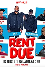 Ray Jr's Rent Due Poster