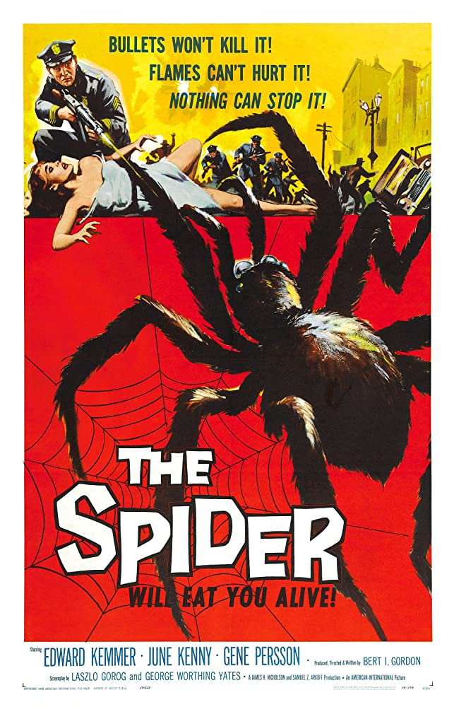 June Kenney in Earth vs the Spider 1958