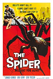 The Spider (1958) Poster - Movie Forum, Cast, Reviews
