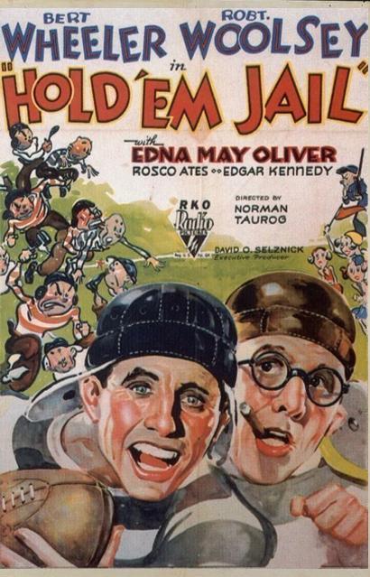 Bert Wheeler and Robert Woolsey in Hold 'Em Jail (1932)