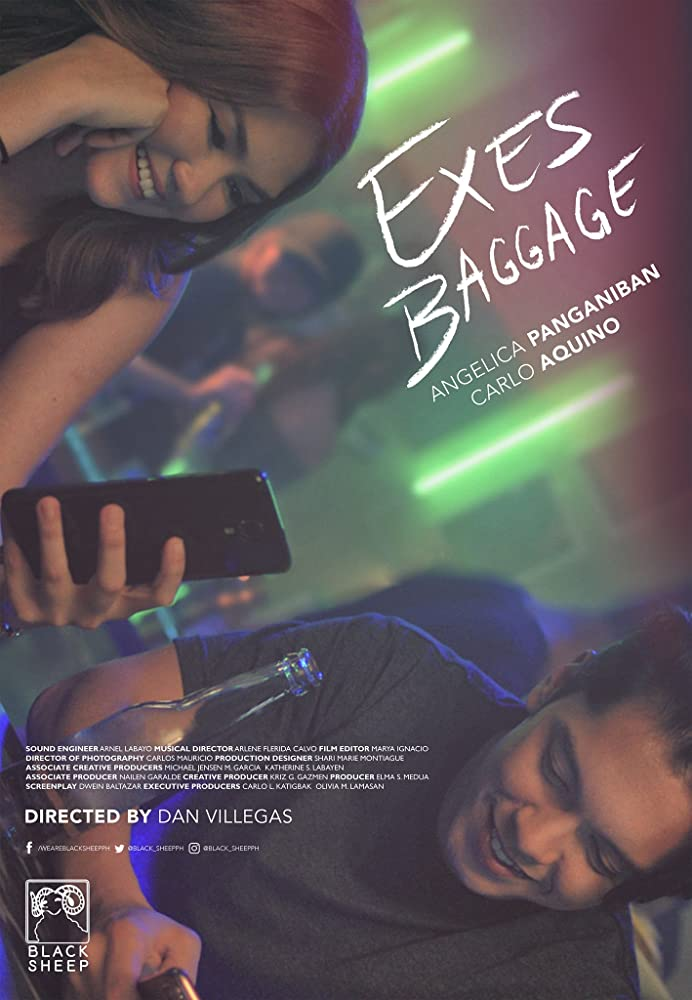 Carlo Aquino and Angelica Panganiban in Exes Baggage (2018)