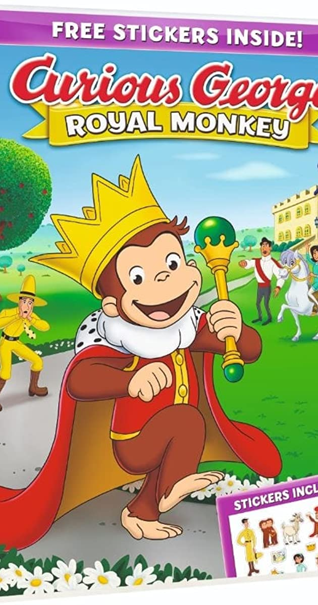 Subtitle of Curious George: Royal Monkey
