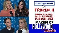 Reacción de las estrellas en Frozen 2