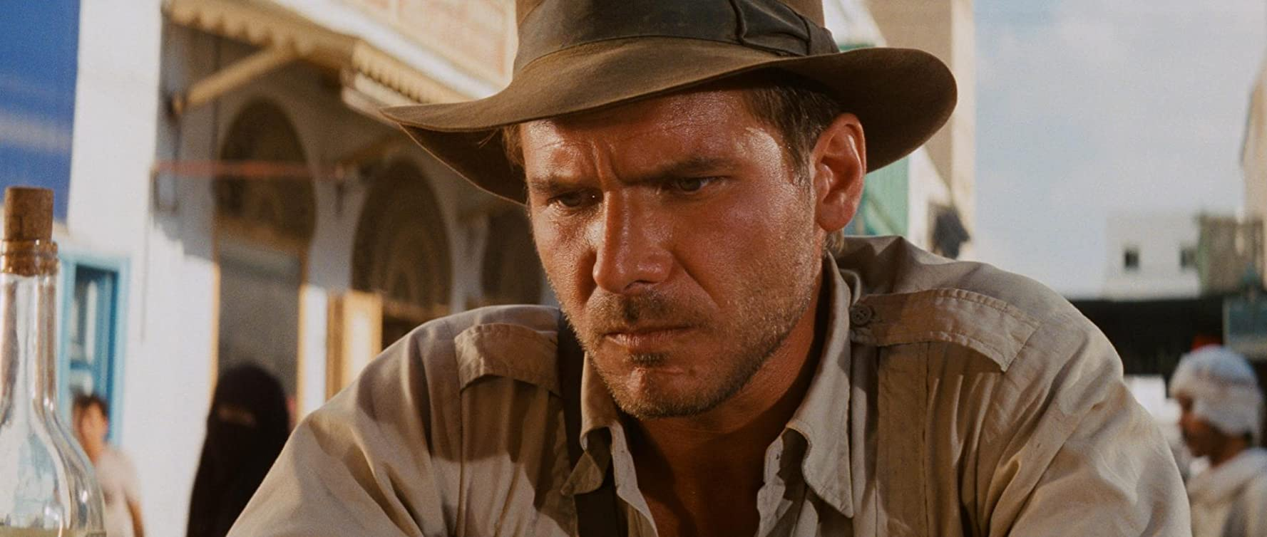 Harrison Ford in Raiders of the Lost Ark (1981)