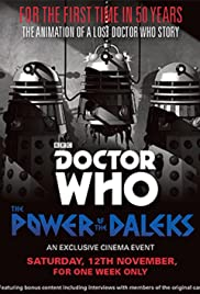 Doctor Who: The Power of the Daleks (2016) Poster - Movie Forum, Cast, Reviews