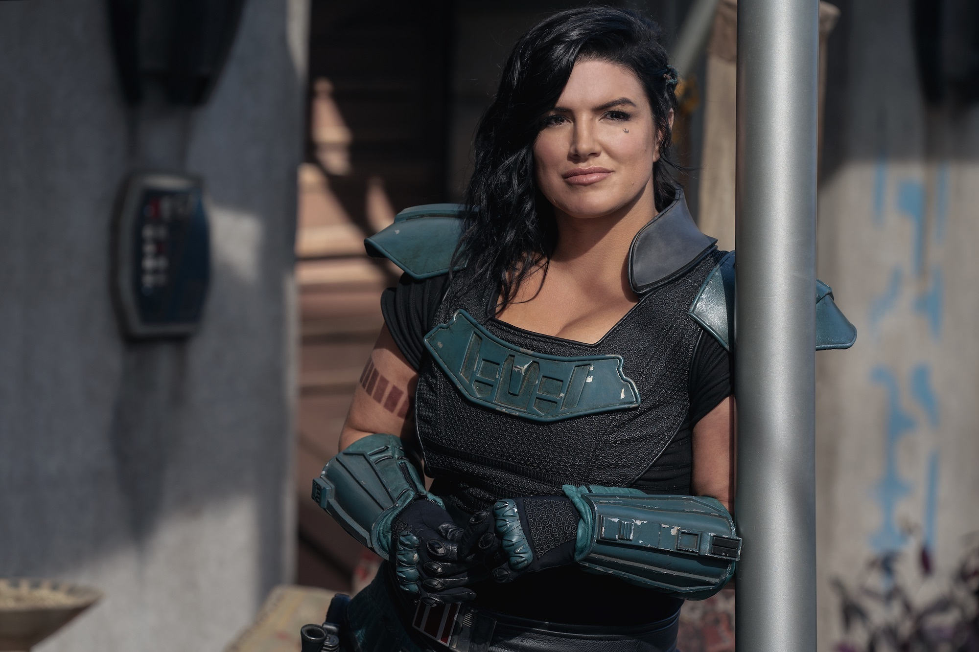 Gina Carano in Chapter 12: The Siege (2020)