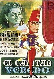 El capitán Veneno Poster