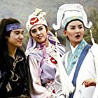 Maggie Cheung, Jacky Cheung, and Joey Wang in Se diu ying hung: Dung sing sai jau (1993)