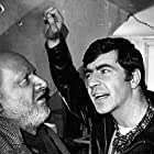 Donald Pleasence and Alan Bates in The Caretaker (1963)