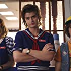Maya Hawke, Joe Keery, and Gaten Matarazzo in Stranger Things (2016)