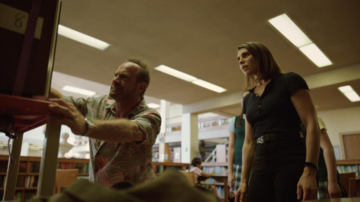 Christopher Meloni and Lili Mirojnick in Happy! (2017)