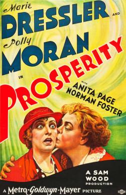 Marie Dressler and Polly Moran in Prosperity (1932)