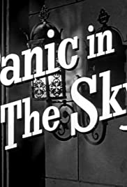 Panic in the Sky Poster