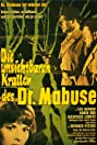 The Invisible Dr. Mabuse (1962) Poster