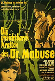 The Invisible Dr. Mabuse Poster
