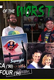 Supergirl, Captain America (1990), and Roger Corman's Fantastic Four Poster