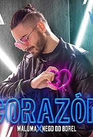 Maluma Feat. Nego do Borel: Corazón Poster