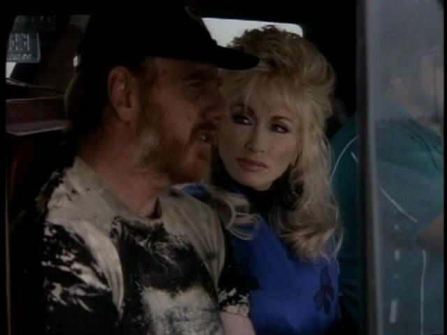 Dolly Parton and Ray Benson in Wild Texas Wind (1991)