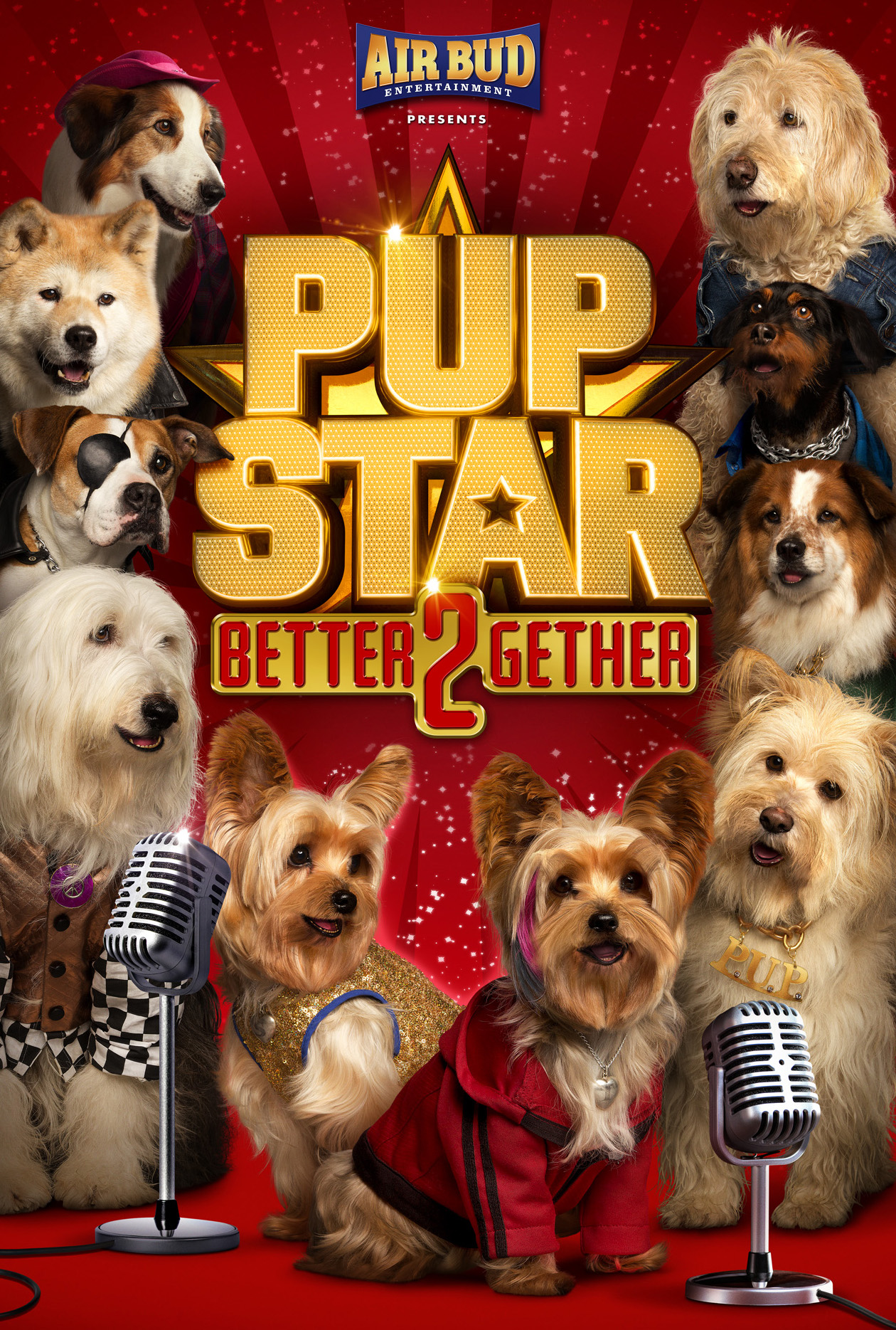 Pup Star: Better 2Gether (2017) WEBRip 480p & 720p
