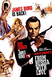 From Russia with Love (1963) Poster - Movie Forum, Cast, Reviews
