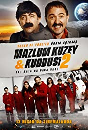 Mazlum Kuzey & Kuddusi 2 La! Kasada Para Var! Poster