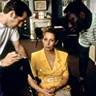 Jérôme Anger, Mouss Diouf, and Claude Jade in Julie Lescaut (1992)
