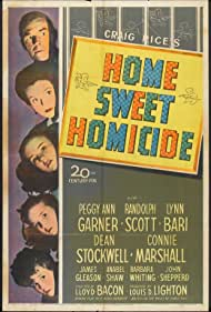 Home, Sweet Homicide (1946) Poster - Movie Forum, Cast, Reviews