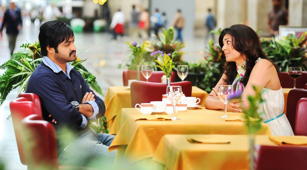 N.T. Rama Rao Jr. and Kajal Aggarwal in Baadshah (2013)