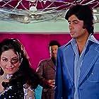 Amitabh Bachchan and Aruna Irani in Deewaar (1975)