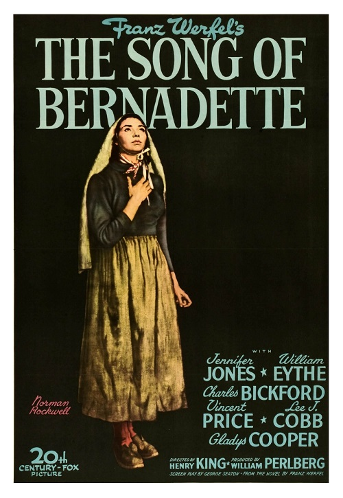 Jennifer Jones in The Song of Bernadette (1943)