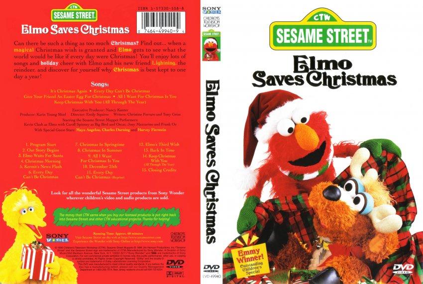 Elmo Saves Christmas.Elmo Saves Christmas 1996