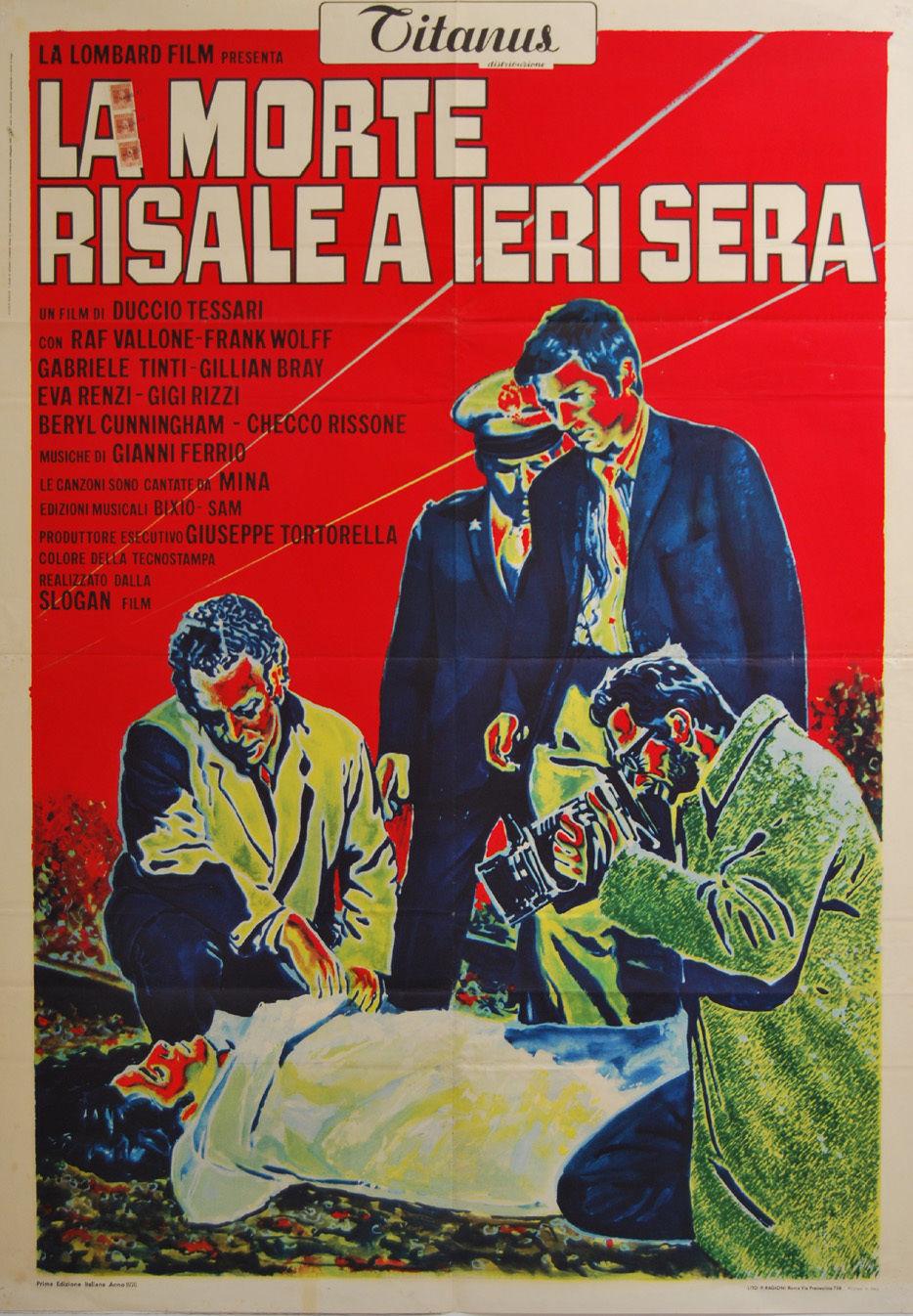 La morte risale a ieri sera (1970) - IMDb
