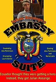 Julian Assange's Embassy Suite Poster