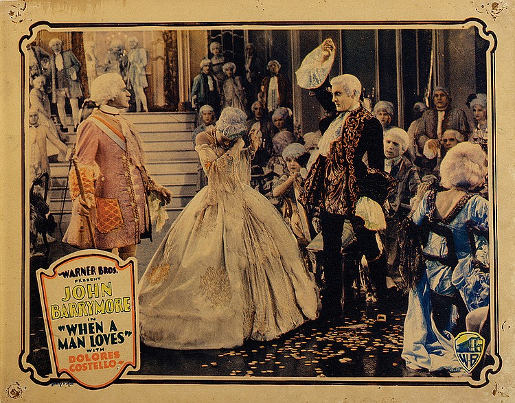 John Barrymore, Dolores Costello, Sam De Grasse, and Stuart Holmes in When a Man Loves (1927)