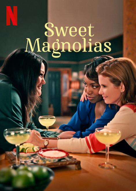 Brooke Elliott, JoAnna Garcia Swisher, and Heather Headley in Sweet Magnolias (2020)